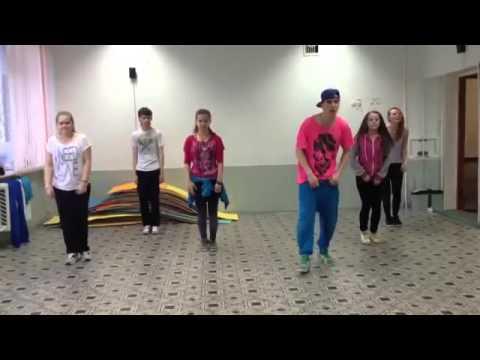 Легкий танец хип хоп