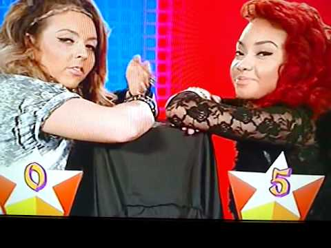 Jesy And LeighAnne Faceoff