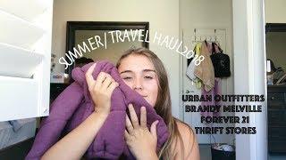 Summer/ Travel Haul 2018