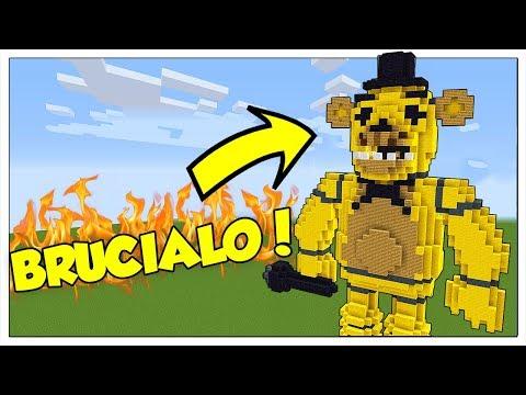 QUELLO E' UN ANIMATRONIC?!? BRUCIALO! - Minecraft ITA