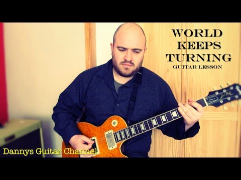 World Keeps Turning by Peter Green - Guitar Lesson
