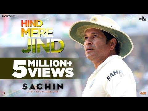 Hind Mere Jind | Official Video | Sachin A Billion Dreams | A R Rahman | Sachin Tendulkar thumbnail