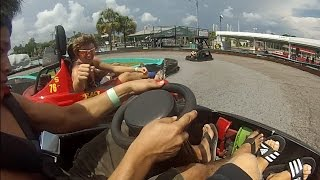 Crashing Go Karts In Panama City Beach!