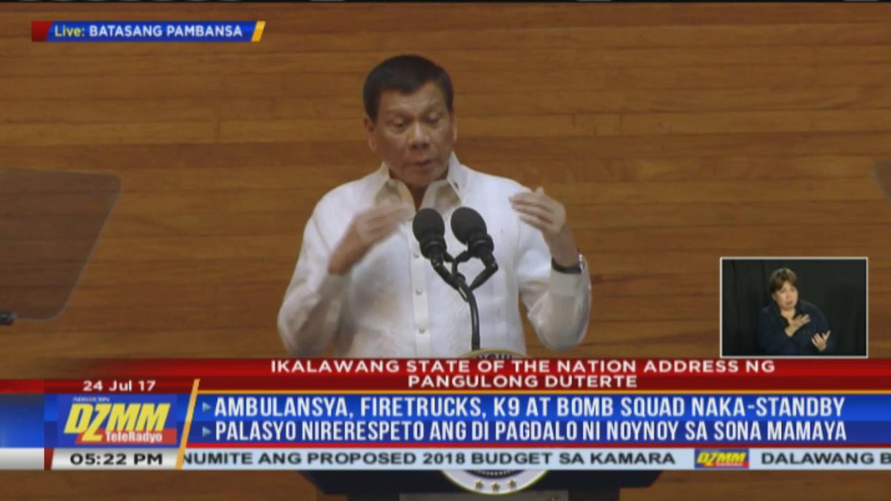 Duterte paraphrases Ecclesiastes: A time for everything