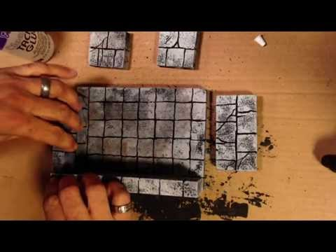 Making Foam Dungeon Rooms!