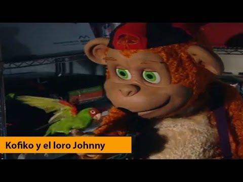 Kofiko y el loro Johnny
