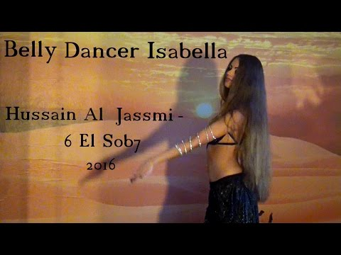 Arabic Belly Dance Isabella - Hussein Al Jasmi حسين الجسمي HD
