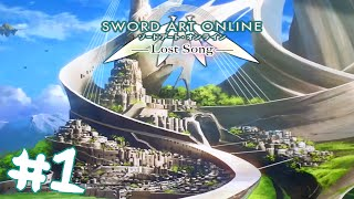 Sword Art Online Lost Song (PS4 Gameplay) Part 1 || LINK START!