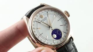Rolex Cellini Moonphase 50535 Luxury Watch Review