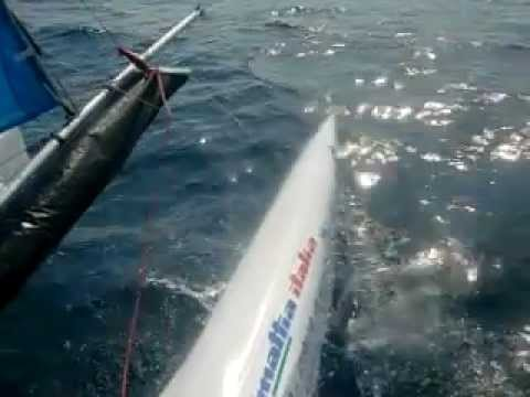 puntiroli oscar dudek pavol giro d'Italia 2011 catamarano mattia esse sport 18 real sailing italia 1