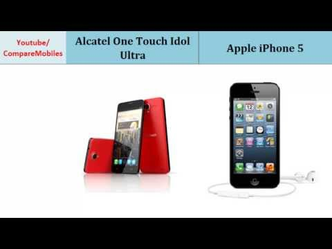 Alcatel One Touch Idol Ultra Vs Apple iPhone 5, full specifications