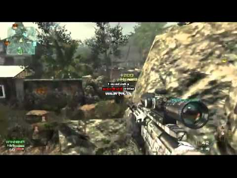 MW3 Quick Scope Montage 2