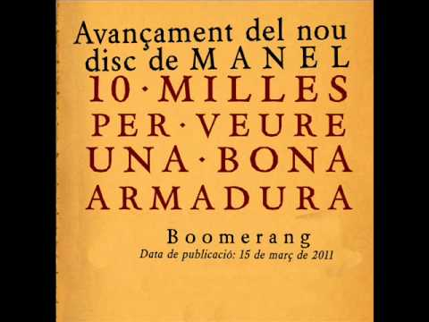 MANEL. BOOMERANG