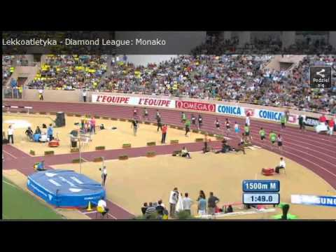 Men's 1500 m Monaco Herculis Diamond League 2011