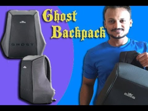 Anti Theft Backpack | Ghost Backpack | Unboxing | Overview | RoadGods | Dj VAibhav