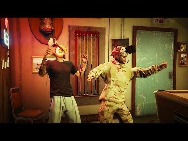 SUPER ASALTO CON FARGAN - GTA V
