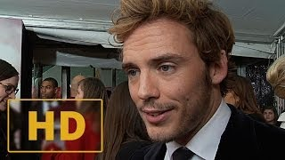 The Hunger Games: Catching Fire New York Premiere - Sam Claflin Interview HD (2013)