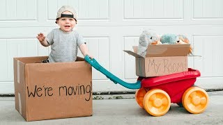 MOVING DAY!!! & HALLOWEEN