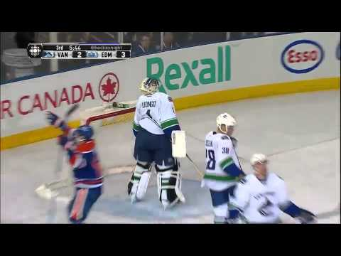 Nail Yakupov First Career NHL Hat Trick 4/27/13