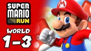 Super Mario Run (iOS): World Tour 1-3 - ALL COINS! Pink, Purple, Black Coins – Aaronitmar