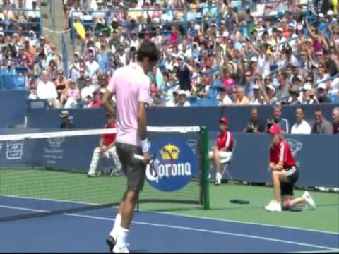 Federer vs Fish - Cincinnati 2010 Final - [Last Game]