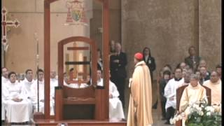 Ceremony of Transition for the Archbishop of Los Angeles (2/27/2011)