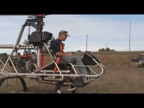 Homebuilt Helicopter from beginning to end