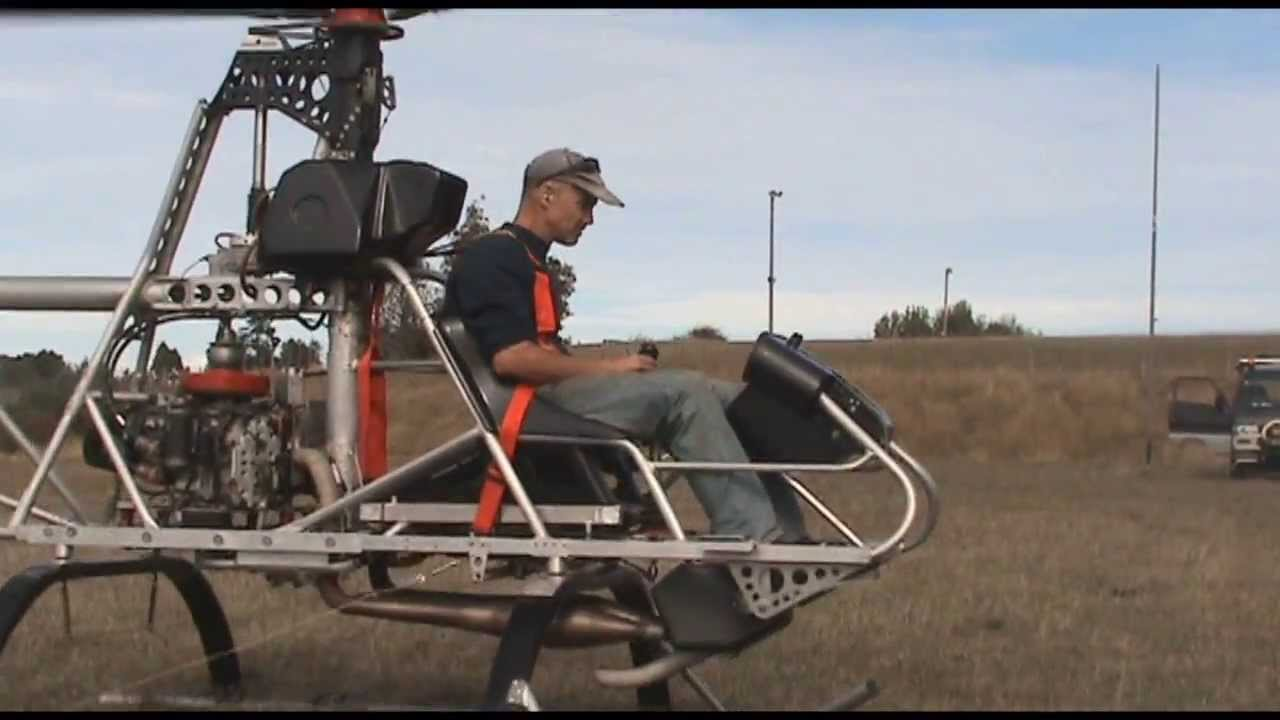 Homebuilt Helicopter From Beginning To End Youtube