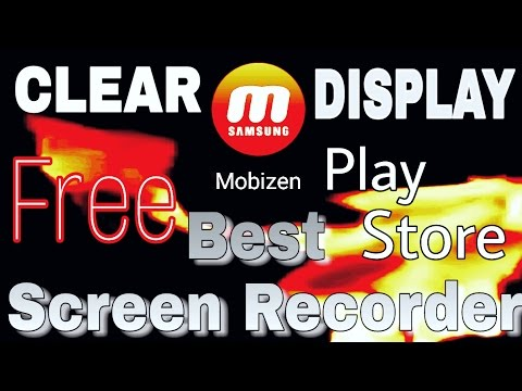 Best Screen Recorder™ App Free On Android,[Samsung Mobizen]/100%Fully Clear Display Recording.