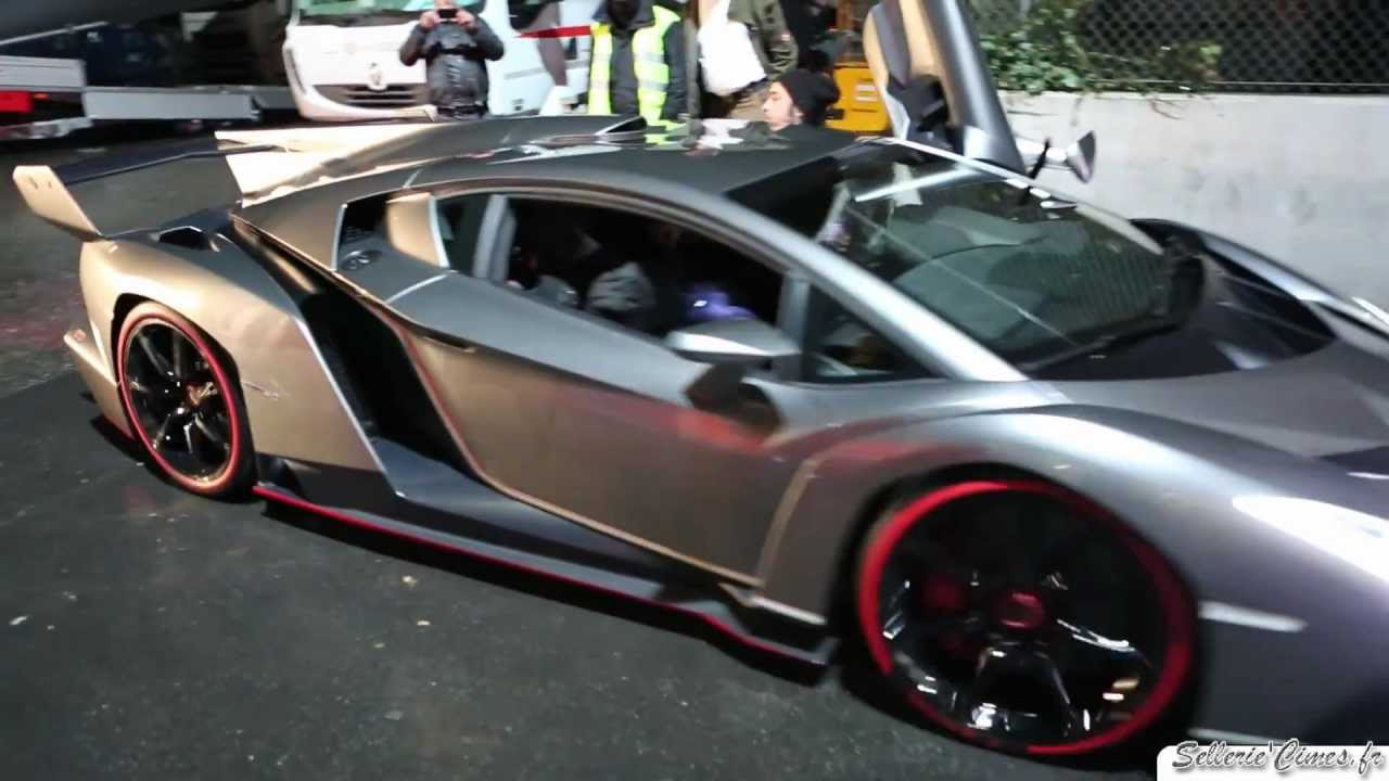 How To Back Up A 4 5 Million Dollar Lamborghini Veneno Start Up Amp Sound Youtube