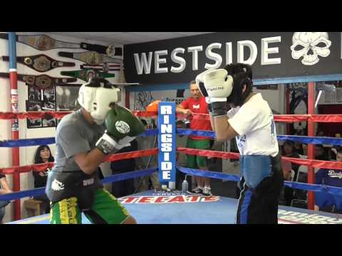 sparring at westside boxing club EsNews Boxing Image 1