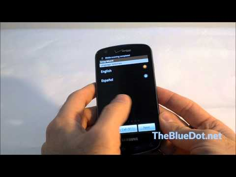 Samsung Charge How To: Charge and Power on