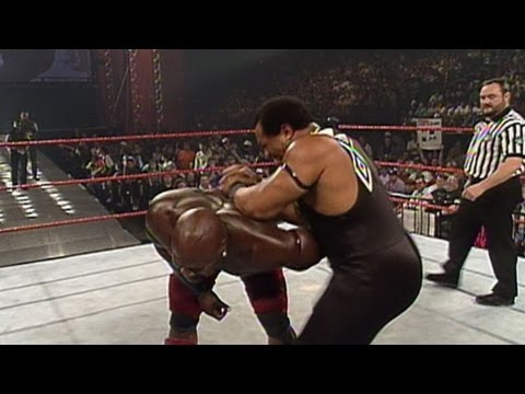 WWE Hall of Fame: Faarooq (Ron Simmons) defeats arch