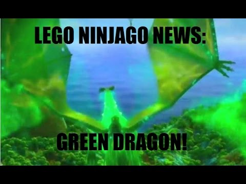 Green Ninjago Dragon Ninjago News Green Dragon