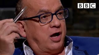 Touker can't believe how much money entrepreneurs have already spent...   Dragons' Den - BBC