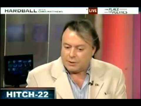 Christopher Hitchens on Hardball talking about Hitch-22.
