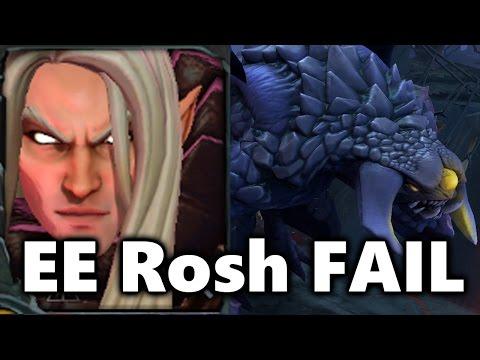 EternalEnvy Solo Roshan FAIL - Boston Major Dota 2