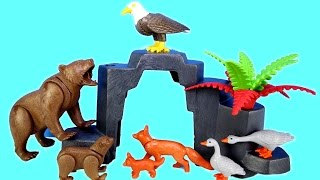 Playmobil Wildlife Animals Treehouse Building Set Build Review