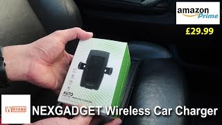 NEXGADGET Fast Wireless Car Charger Review