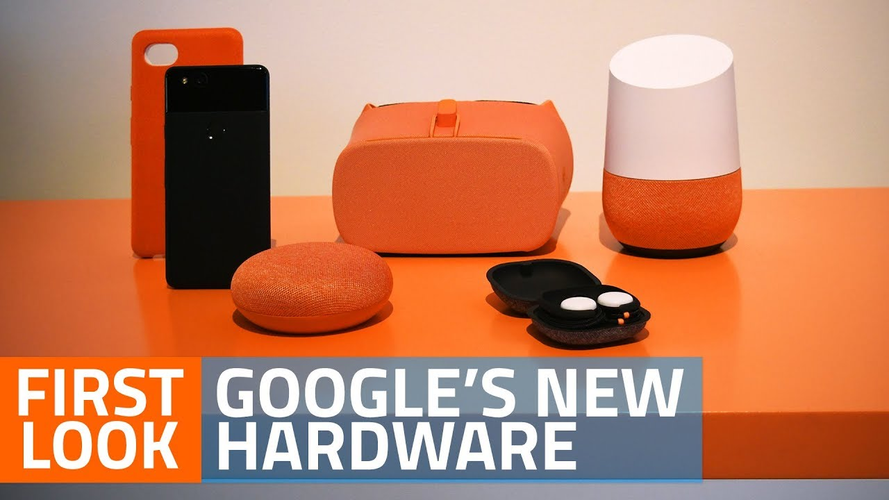 Google Pixelbook, Pixel Buds, Daydream View, Google Home Mini and Home Max  First Look