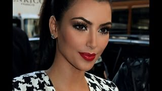 Kim Kardashian Inspired Look