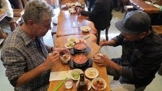 Los Angeles: Korean-American food stays true to its roots (Anthony Bourdain)