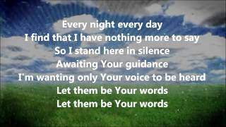 Watch Aaron Shust Give Me Words video