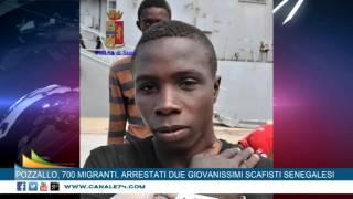 Arrestati due giovanissimi scafisti senegalesi