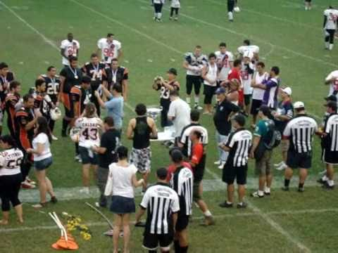 Final do Torneio Touchdown 2010 - Vila Velha Tritões x Vasco Patriotas