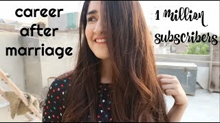 CAREER AFTER MARRIAGE & 1 MILLION SUBSCRIBERS? | QnA