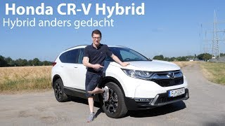 2019 Honda CR-V Hybrid Fahrbericht / Hybrid-Antrieb einmal anders gedacht - Autophorie