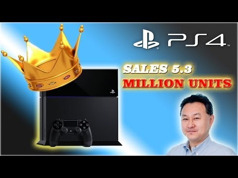 Sony Playstation 4 sales 5.3 million units | XBOX ONE Can't handle 1080p