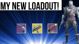 THIS WILL BE MY LOADOUT AFTER THE UPDATE! DESTINY 2