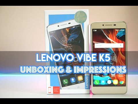 Lenovo Vibe K5 Unboxing & Initial Impressions (Rs. 6,999 Budget Smartphone)